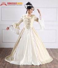 Victorian Period Dress/Southern Belle Gown Reenactment Theater Gown/Reenactment Dress/18th Century Ball Gown