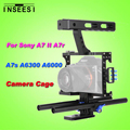 INSEESI IN-68 Aluminum Alloy Portable Camera Video Cage Kit DSLR Stabilizer With 15mm Rod Rig for Sony A7 II A7r A7s A6300 A6000