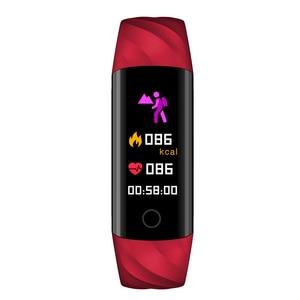 Image 3 - SENBONO pulsera inteligente S5 Bluetooth IP68, con control del ritmo cardíaco y de la presión sanguínea, resistente al agua y con Monitor de oxígeno, seguidor de actividad