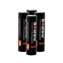 Soshine 18650 Battery Lithium Battery 3.7V 18650 2600mAh Capacity Li-ion Rechargeable Battery For Flashlight Torch Batteries цена 2017