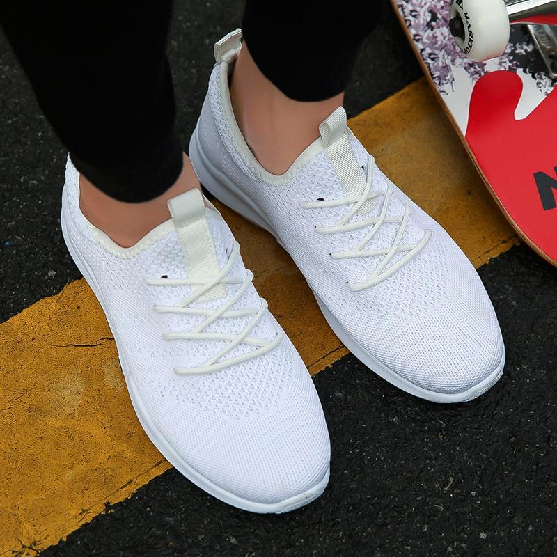 2018 marca quente sapatos casuais tênis leves