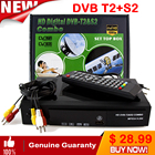 HD Digital Satellite tv receiver DVB T2+S2 TV Tuner Receivable MPEG4 DVB-T2 TV Receiver T2 Tuner DVB H.264 Terrestrial receiver