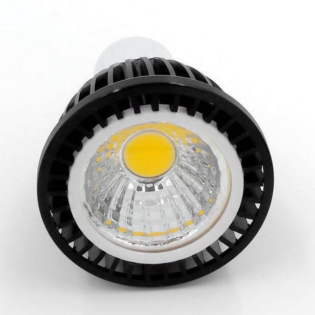 immable 5W/9W/12W LED COB Spot Light Bulb MR16 12V Gu10 E27 110V 220V Dimmable LED Gu10 bulb 5W COB LED Spot Downlight Bulb