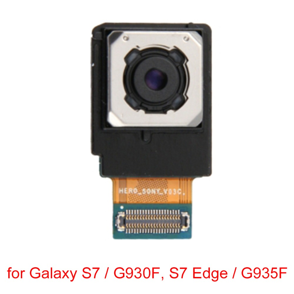 New for Galaxy S7 / G930F, S7 Edge / G935F (EU Version) Back Rear Camera Replacement repair parts