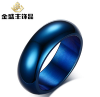 USA UK Canada Russia Brazil Legend Of Zelda Shiny Blue And Black Ring Dome Men S