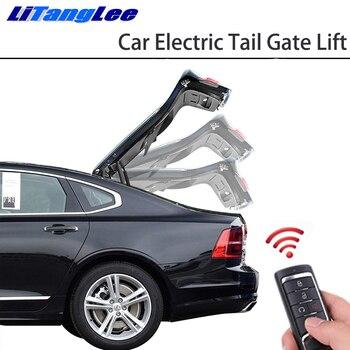 LiTangLee سيارة كهربائية الذيل بوابة رفع الباب الخلفي نظام مساعدة لسيارات BMW 5 سلسلة F10 F11 F07 F18 2011 ~ 2017 التحكم عن بعد غطاء