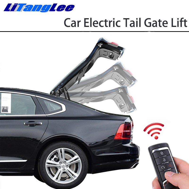 LiTangLee Car Electric Tail Gate Lift Tailgate Assist System For BMW 5 Series F10 F11 F07 F18 2011~2017 Remote Control Lid