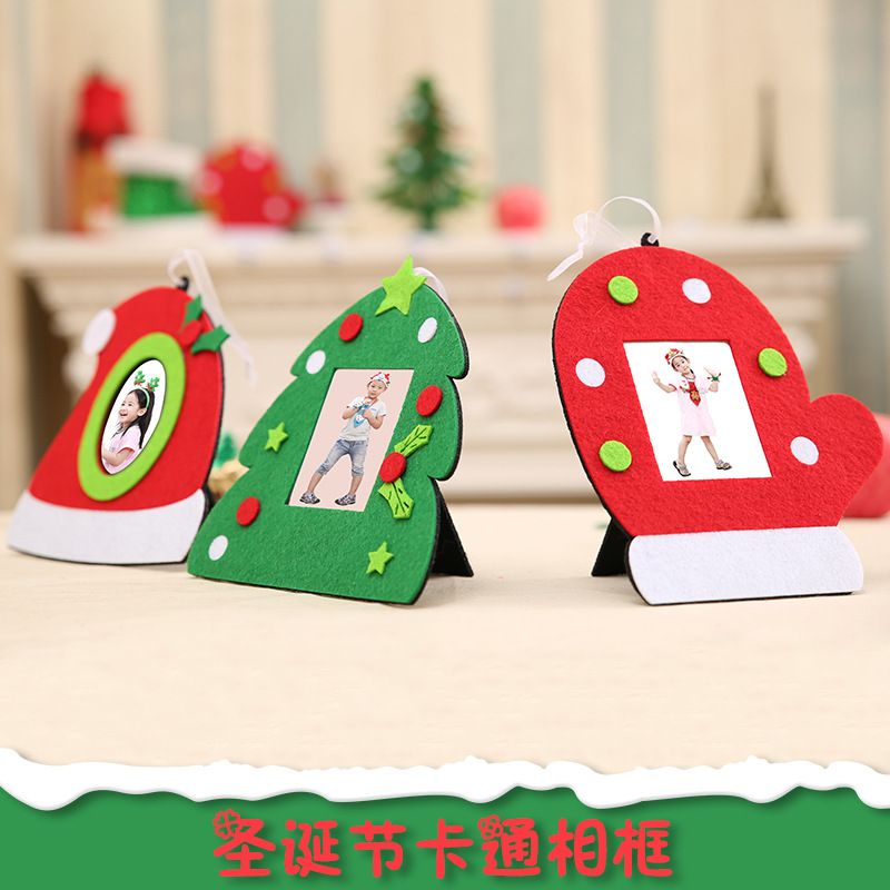 christmas decorations for home creative photo frames christmas tree pendants hanging ornament xmas new year decor in pendant drop ornaments from home