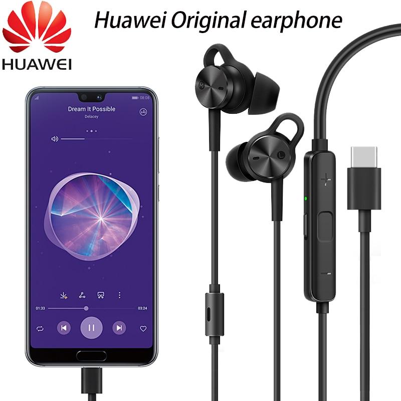 HUAWEI Active Noise Canceling Earphones 3 Original USB Type C ANC 3 CM Q3 Hi Res