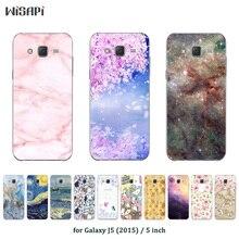 6d8315e13ee Moda impresa para Samsung Galaxy J5 2015 gel funda silicona para J5 J5008  YC955 SM-