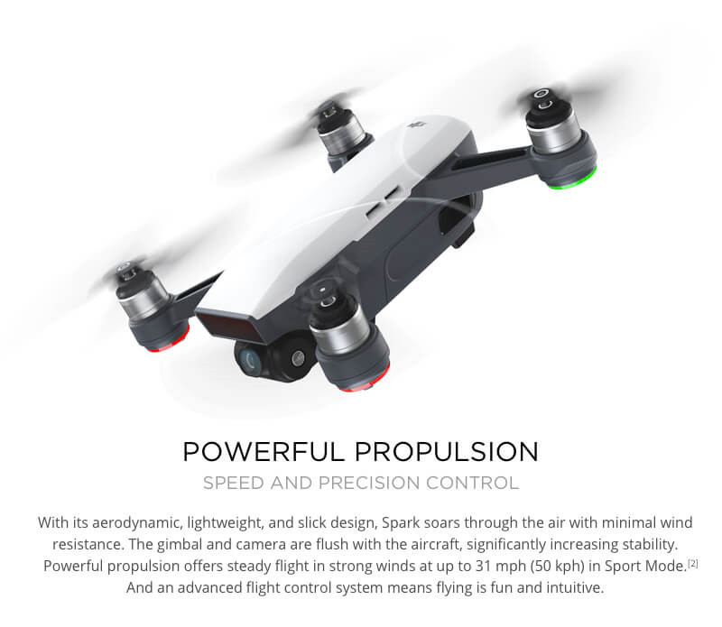 DJI Spark Drone Fly More Combo 5 Colours In Stock Free Gift 16GB MicroSD Card Gift Universal Adaptor FPV Quadcopter Helicopter