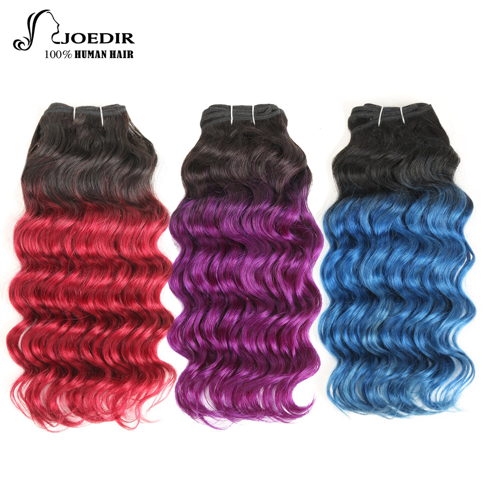 Joedir Pre Colored Deep Wave Brazilian Hair 100 Human