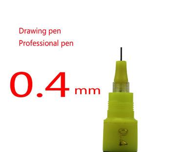 5 sztuk 0 4mm Hero akumulator długopisy igły pióro do rysowania pióro techniczne tanie i dobre opinie Pojedyncze other Wielokrotnego napełniania Promocyjne pióra 4pens lot