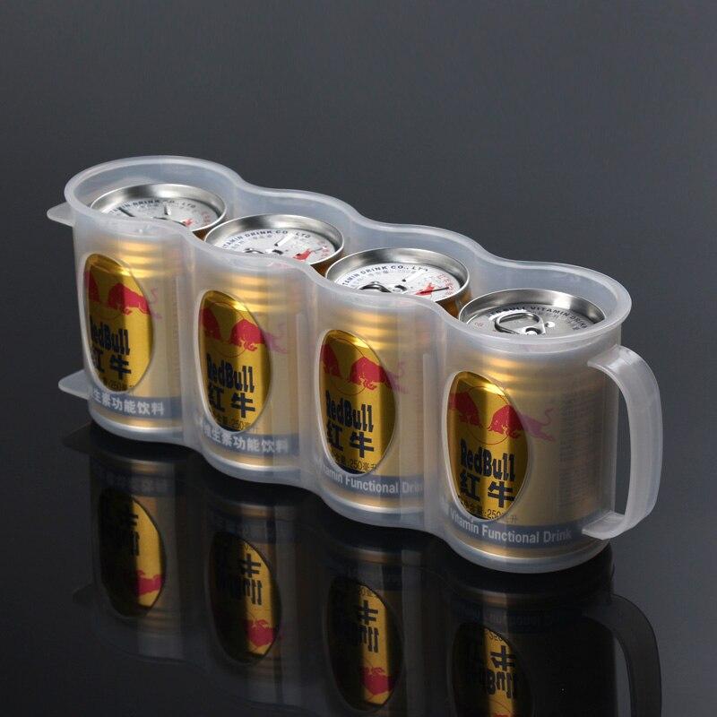 Keuken Organizer : Clear Plastic Keuken Organizer Bier Blikjes Keuken Opbergrek Koelkast