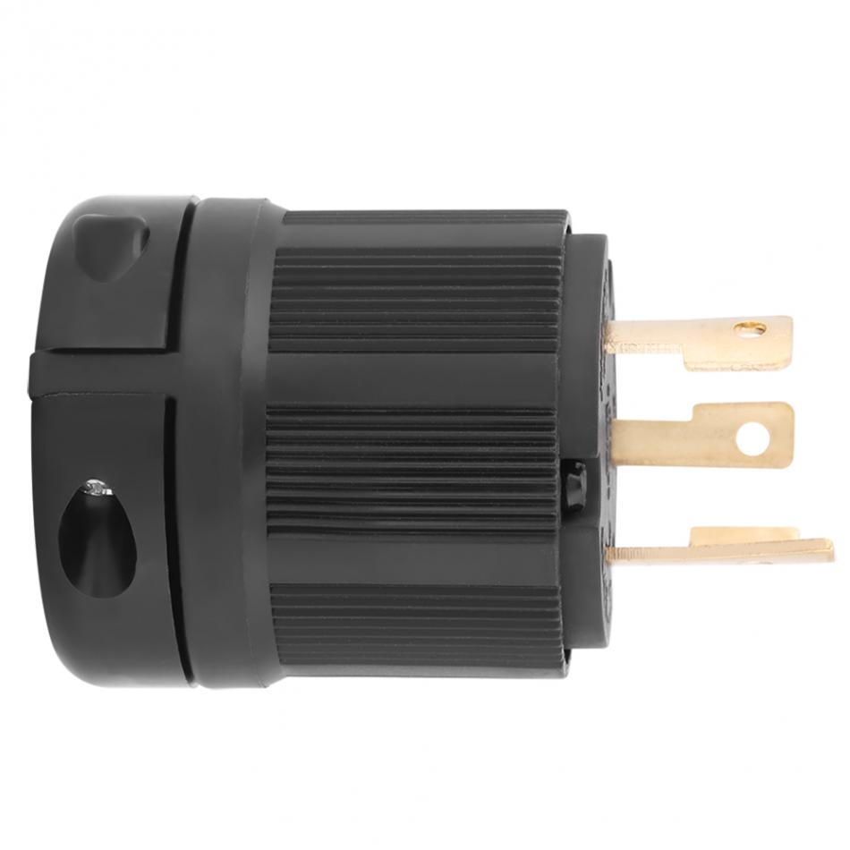 small resolution of twist lock electrical plug adapter socket nema generator plug converter l5 30 30a 125v 3 wire electrical charger plug in ac dc adapters from home