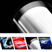 Pintura del coche de Protección Película Del Vinilo Del Abrigo Etiqueta Engomada Transparente 2 Capa de película del cuerpo de coche 60inx20in (1.52×0.5 m)