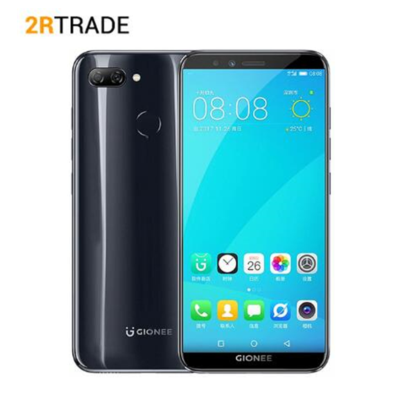 "Global Version Gionee S11 Lite Android 7.1 4G LTE Snapdragon Octa Core 4G+64G Global Network 5.7"" 18:9 Full Screen Mobile Phone"