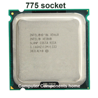 INTEL Xeon X5460 LGA775 Processor 3 16GHz 12MB 1333MHz LGA771 771 To 775 CPU Work On