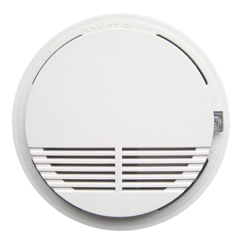 single Smoke Alarm  Photoelectric  Battery Optical Smoke Detector  DC9V smoke detector battery powered photoelectric smoke alarm independent smoke detector single station type smoke detector