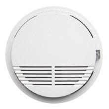single Smoke Alarm  Photoelectric  Battery Optical Smoke Detector  DC9V smoke detector
