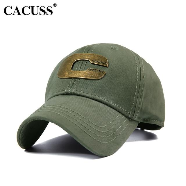CACUSS Marca Meta Logo Snapback do Boné De Beisebol Das Mulheres Sólidos  Algodão Lavado Caps Hip ec7f1f63f0f
