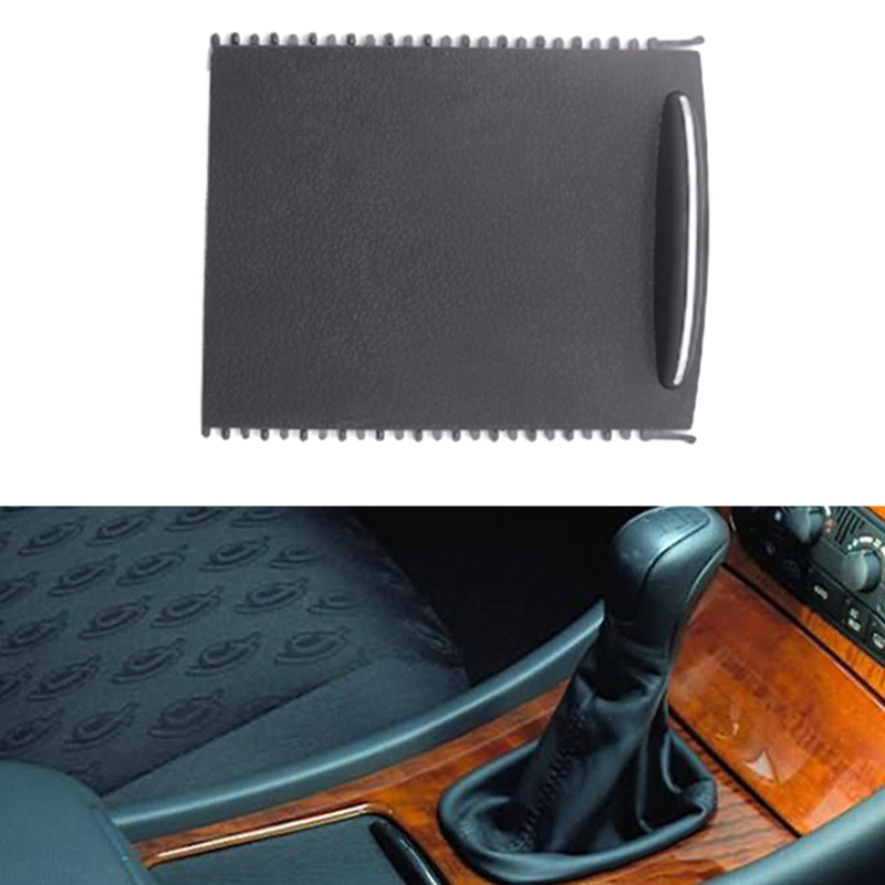Car Center Console Sliding Shutters Cup Holder Roller Shutter Cover For Mercedes-Benz C-Class W203 2000-2007 2036800123 9051