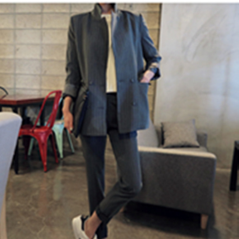 Gray Pants Suit Promotion-Shop for Promotional Gray Pants Suit on ...