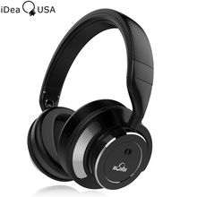 iDeaUSA V200 Lively Noise Discount Foldable Wi-fi Headphone Over-Ear HiFi Bluetooth Headphones Upto 16 Hours Playback Time