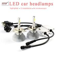 2pcs/set LED car headlamps 40W canbus light h1 H4 Exterior Lights led 12V H7 9005 LED head lights auto bulbs car led headlamp