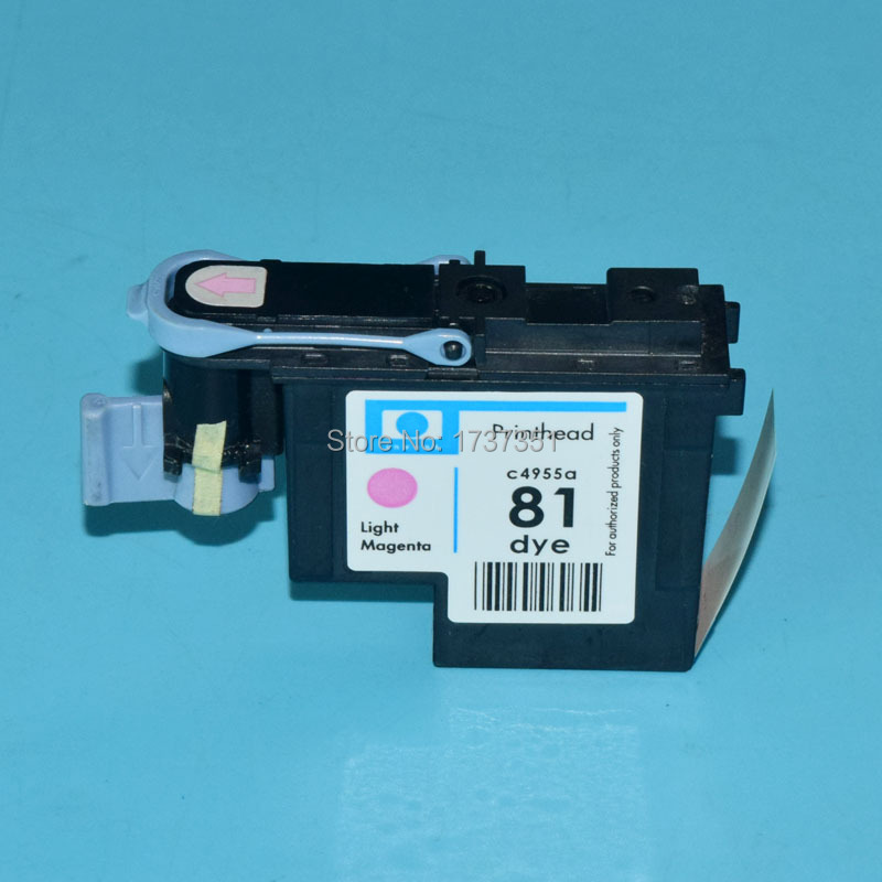 1 piece C4955A HP81 Remanufactured Printhead for hp 81 Designjet 5000 5500 print head Light Magenta color 4 color hp862 printhead for hp photosmart plus b110a b209a b210a print head for hp 862