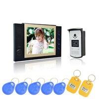 1 Set Latest Video Intercom Smart Home System 8 Inch Panel HD Night Version Video