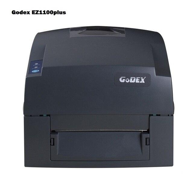 Brand Godex barcode printer EZ1100 plus thermal sticker label ribbon printer machine printing clothing label transfer hang tag
