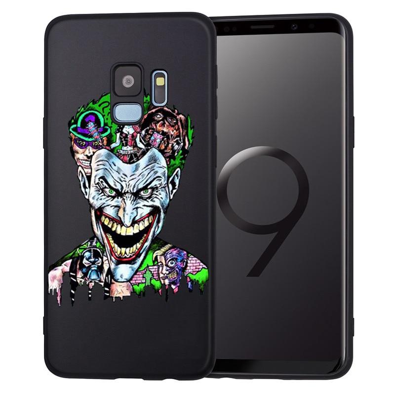 Groot Joker Stitch marvel для samsung Galaxy S6 S7 Edge S8 S9 S10 Plus Lite Note 8 9 чехол для телефона Coque Etui Funda deadpool - Цвет: H1407
