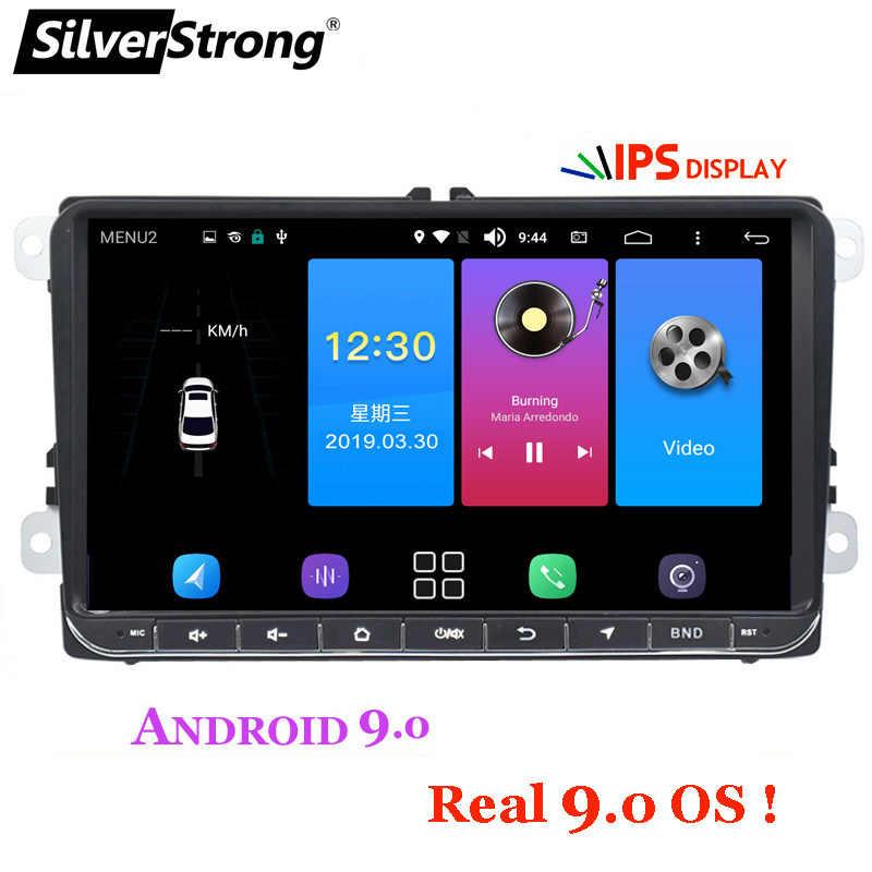 SilverStrong 9 pulgadas IPS matriz Android9.0 DVD del coche para VW Passat mk5 Golf6 Polo Android Radio RDS TPMS-902BM3