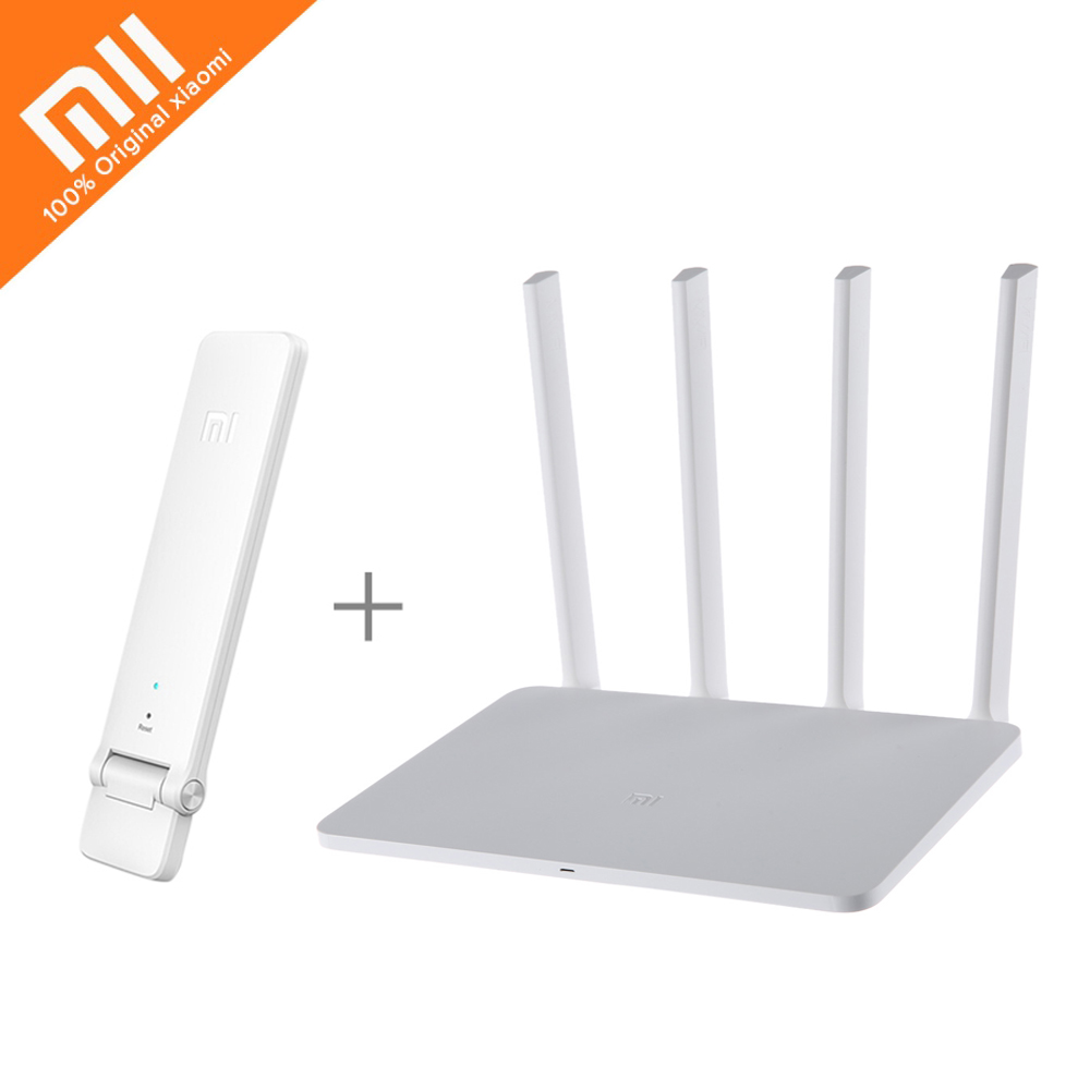 Xiaomi 2.4G/5 GHz 128 MB mi WIFI Wireless Router 3 English Version 1167 Mbps
