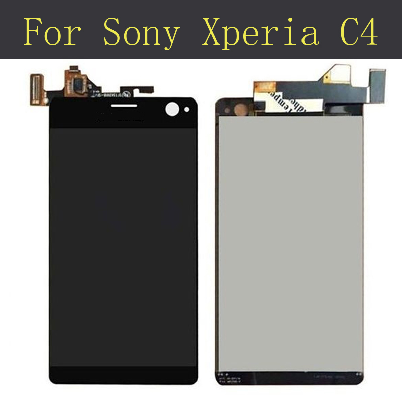 LCD Display + Touch Screen Digitizer Assembly For Sony Xperia C4 E5303 E5306 E5333 E5343 E5353 E5363