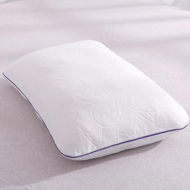 DFH Shredded Memory Foam Pillow Bedding Comfort Orthopedic Sleeping Pillow Health Care Cervical Slowly Rebound Neck