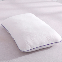 DFH Shredded Memory Foam Pillow Bedding Comfort Orthopedic Sleeping Pillow Health Care Cervical Slowly Rebound Neck Pillows