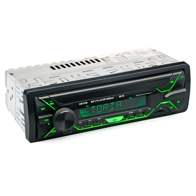 Car Radio Stereo Player Bluetooth Phone AUX-IN MP3 FM/USB/1 Din/remote control 12V  Audio Auto Sale New