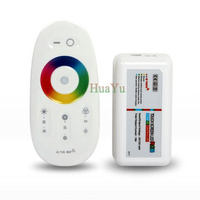 1set RF Touch RGB controller for RGB strip light, 12V LED strip dimmer, 2.4G touch controller Free shipping