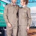 ENVÍO GRATIS Conjunto de abrigo de manga Larga + Pantalones de Trabajo ropa de trabajo fábrica de uniformes de trabajo uniforme al aire libre