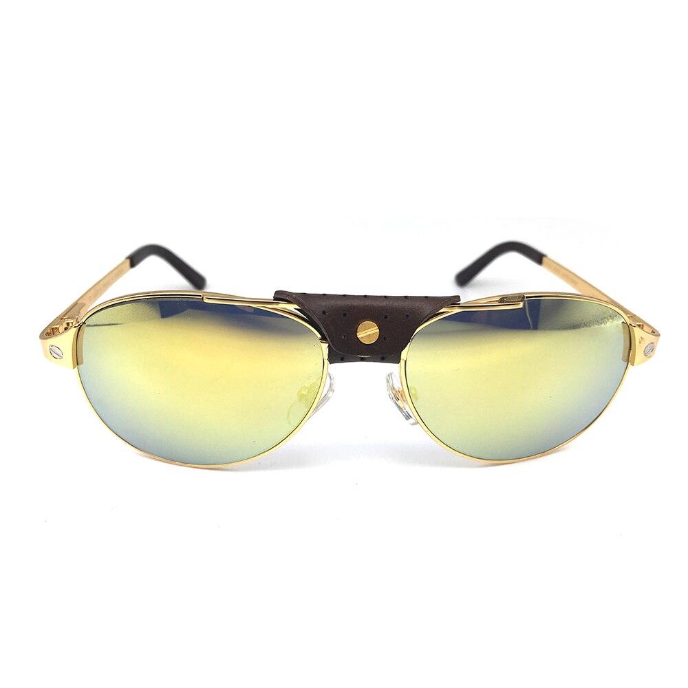 Santos Air Force Sun glasses pilot Sunglasses Men Carter Glasses Shades Women Fashion Eyewear Luxury Sunglasses Eyeglasses 554