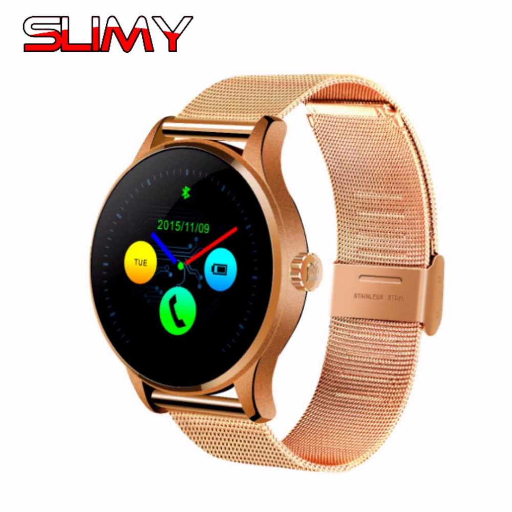 2017 Slimy Smart Watch K88H IPS Screen Support Heart Rate Monitor Bluetooth Smartwatch for Apple Huawei Xiaomi IOS Android Phone bluetooth smart watch heart rate monitoring g3 plus smartwatch support siri voice control raise bright screen for android ios