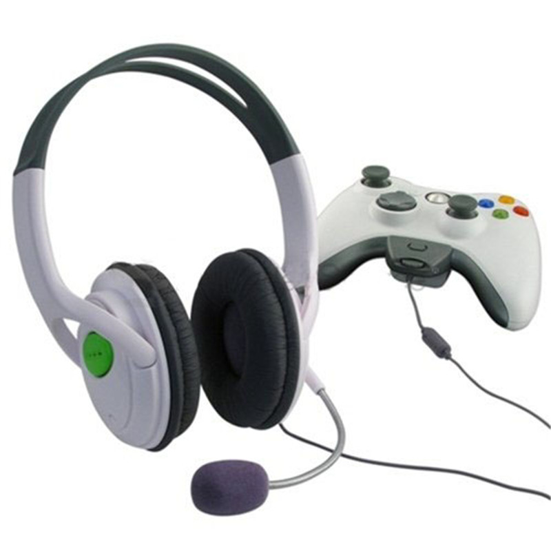 New High Quality Stereo Audio Headband Headphones For Xbox 360 Elite ...