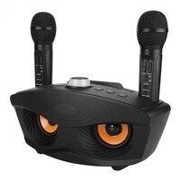Portátil bluetooth ktv karaoke player casa amplificador sem fio alto falante suporte tf cartão fm aux entrada ao ar livre jogador bluetooth|Alto-falantes portáteis| |  -