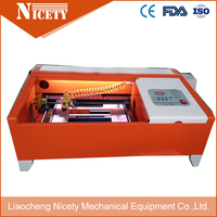 NT 3020 playwood лазерная гравировка и резки с 60 Вт CO2 лазерной трубки
