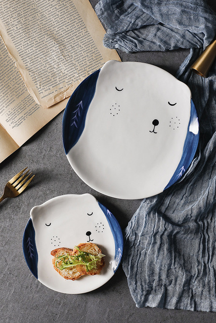 HTB1slmrwIuYBuNkSmRyq6AA3pXan.jpg 640x640 - tabletop-and-bar, dinnerware - Kawaii Animal Plates