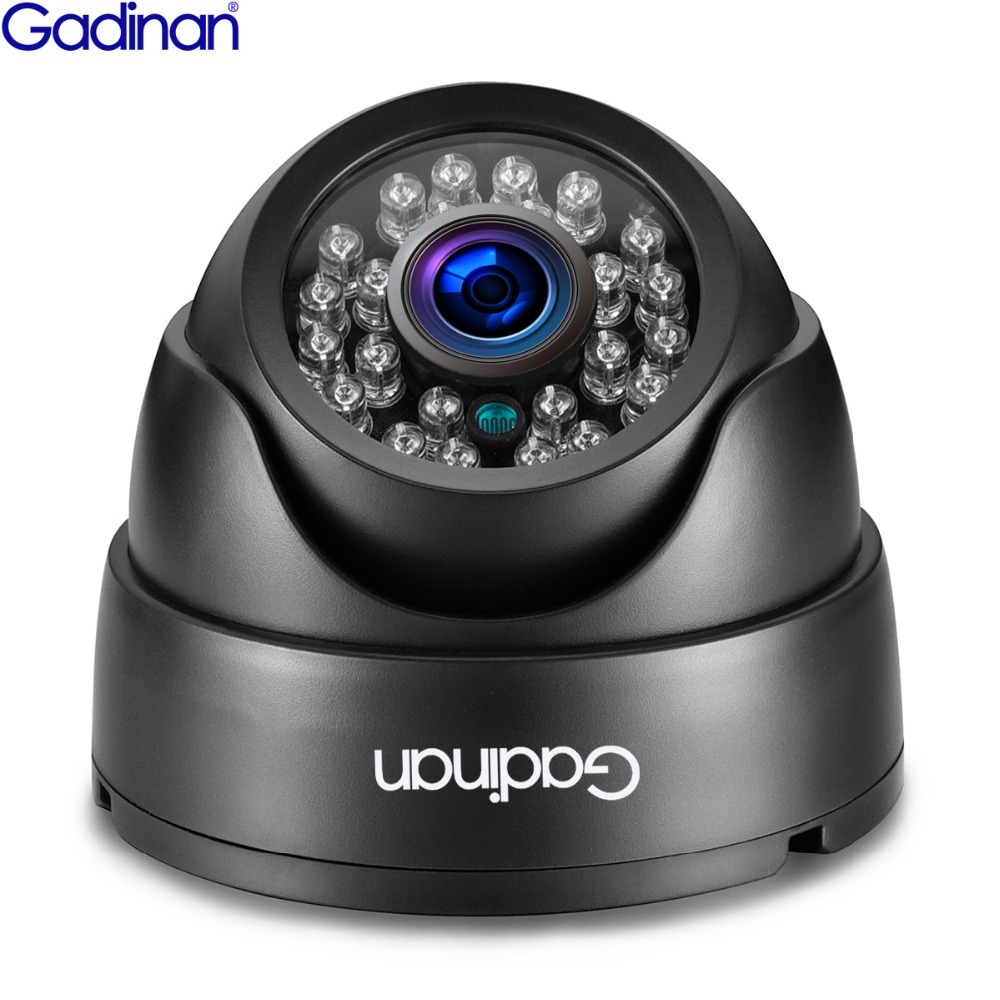 GADINAN HD 3MP SONY IMX323 Capteur 960 p 720 p Professionnel Micro Caméra IP Dôme Infrarouge POE Fonction ONVIF pour CCTV Système DVR
