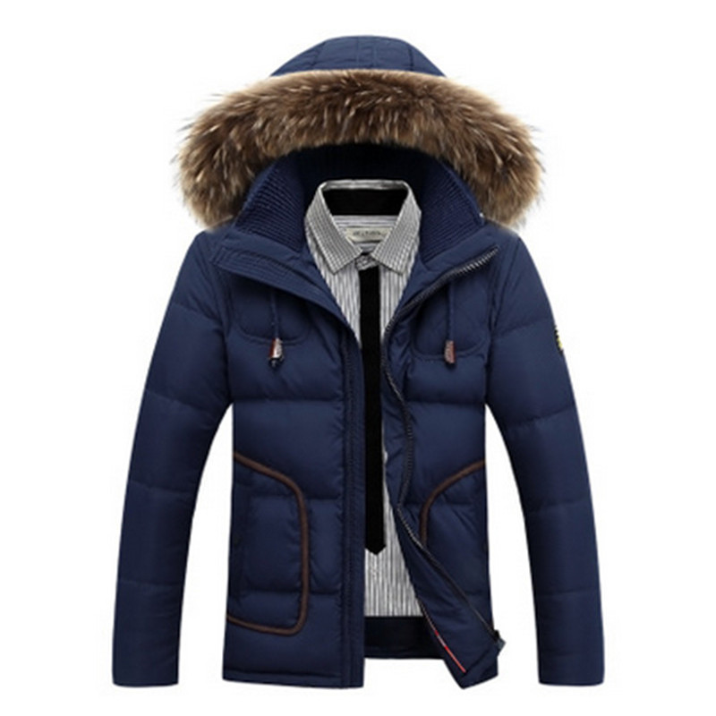 2017 Autumn Winter Hooded Casual  Parka Men Jacket Coat Outerwear Fashion Hood Padded Quilted Warm Male Jackets winter jacket men 2016 brand parka plus size men s hooded parka zipper quilted coat casual jackets