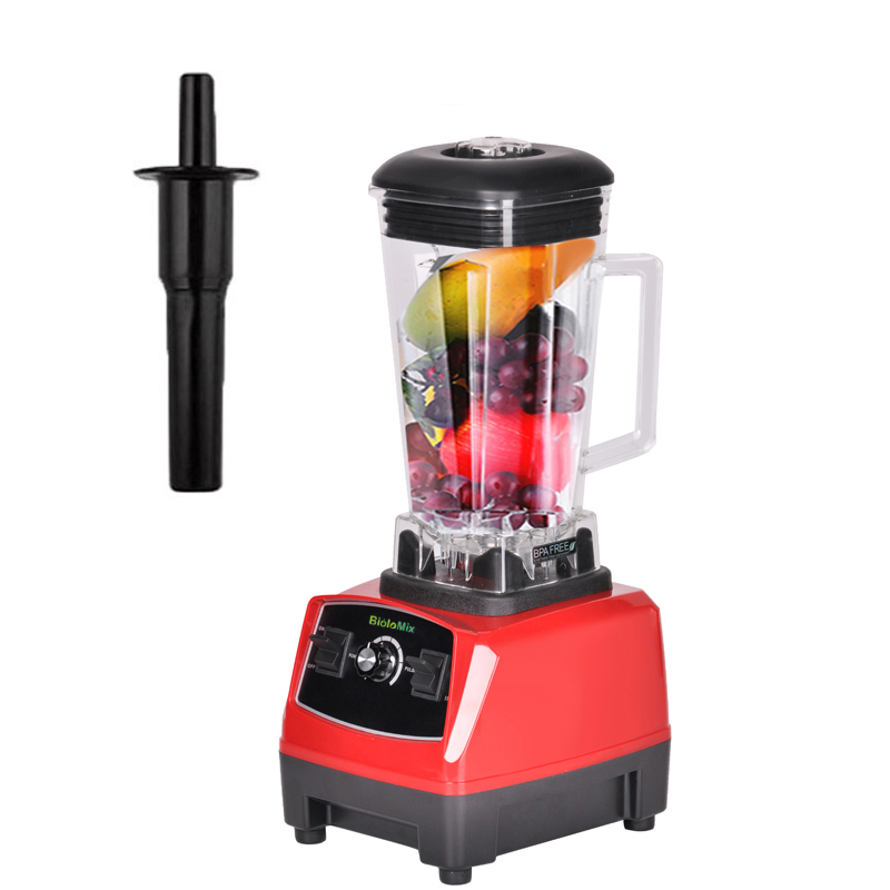 EU/UK/US/AU Plug 3HP 2200W BPA FREE 2L Commercial Grade Professional Ice Smoothie Blender Mixer Juicer Food Processor 220V/110V